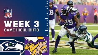 Seahawks vs. Vikings Week 3 Highlights | NFL 2021