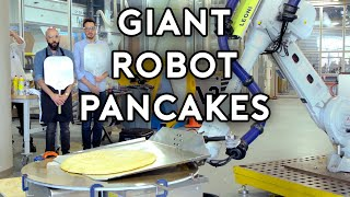 Binging with Babish: Pancakes from Uncle Buck (feat. Dan Souza and a Giant Robot)