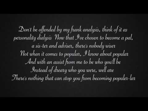 Popular -Wicked (lyrics)