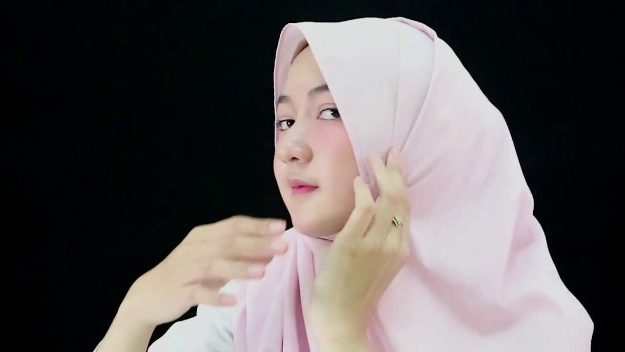 Tutorial Hijab Pashmina Segi Empat Simple Nan Elegant YouTube