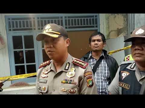 Suami Bacok Istri dan Anak Di Tangerang