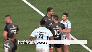 Toulouse maitrise le Racing 92