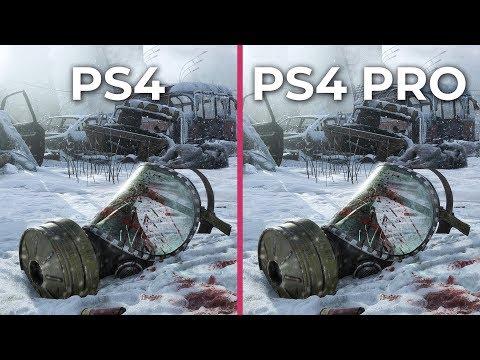 Metro Exodus – PS4 vs. PS4 Pro Graphics Comparison