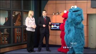 Sesame Street on WCAX 2-7-12