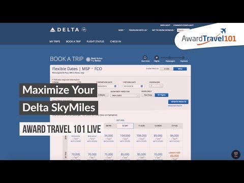 #AT101Live How to Maximize Delta SkyMiles