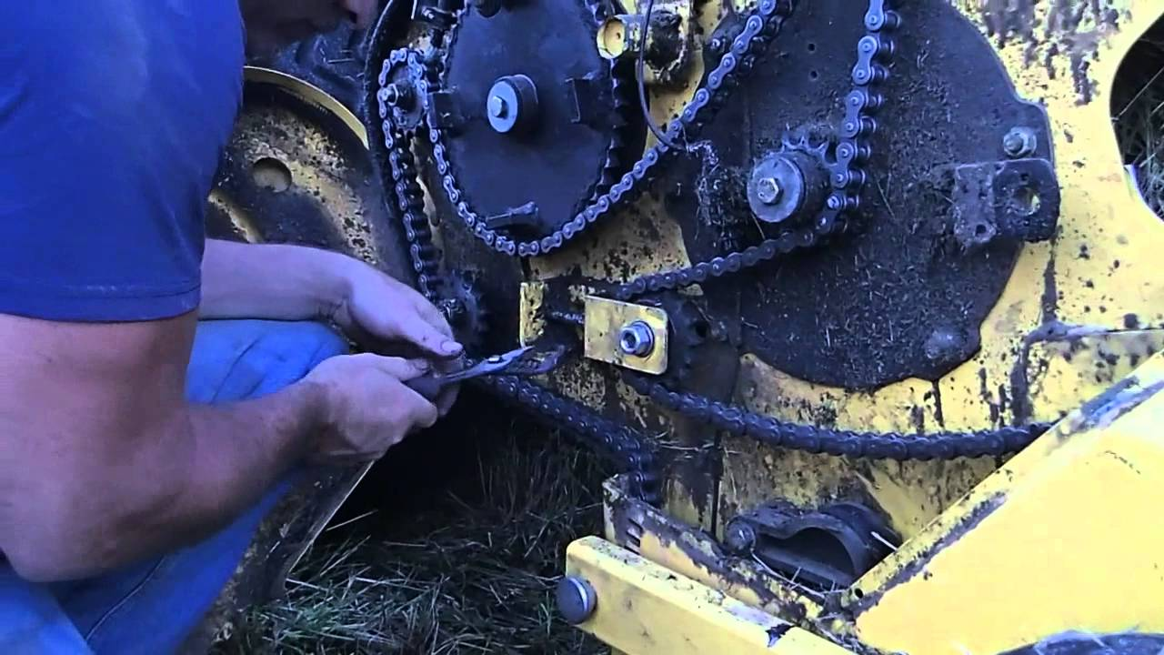605c vermeer round baler good or bad - Chain Problems