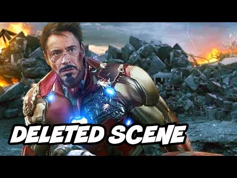 Avengers Endgame Deleted Scenes - Iron Man Doctor Strange Ending Breakdown