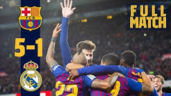 FULL MATCH: Barça - Madrid (2018) | Unbelievable match at Camp Nou