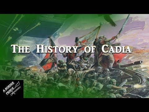 Warhammer 40k Lore: The History of Cadia and the Cadian Shock Troops