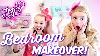 JoJo Siwa Dream Bedroom Makeover - Birthday Surprise!