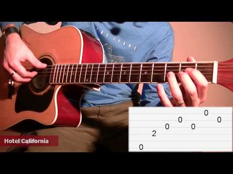 How To Play Hotel California (Eagles): Guitar Tab Lesson TCDG