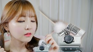 🌼솜털귀청소와 수다 ASMR|NO TALKING 28:33~|Ear ear cleaning & Whispering