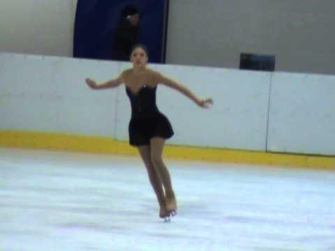Adelina Pintilie - Campionat National de patinaj artistic 2014