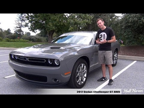 Review: 2017 Dodge Challenger GT AWD