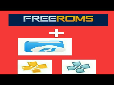 How To Download Any PPSSPP GAMES, Not On Emuparadise, With Freeroms And Es File Explorer
