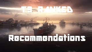 T9 Ranked - Arms Race - Recommended Ships