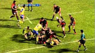 Tries in France 2010 2011 day 20 Clermont - Toulon