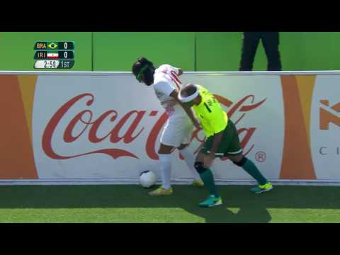 Football 5-a-side | Brazil vs Iran | Preliminary Match 9 | Rio 2016 Paralympic Games
