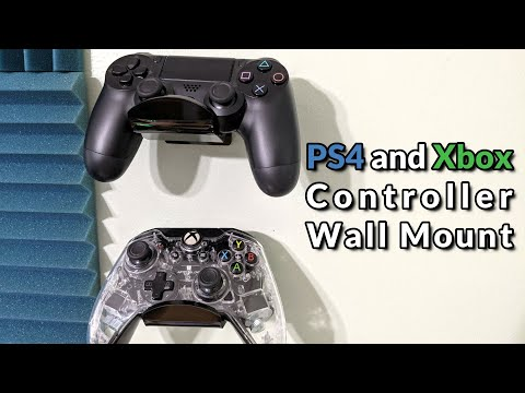 Universal Gaming Controller Wall Mount (PS4 and Xbox) - How to Install