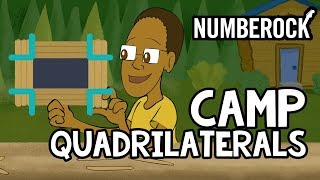 Quadrilaterals Song For Kids ⋆ Geometry Video by NUMBEROCK