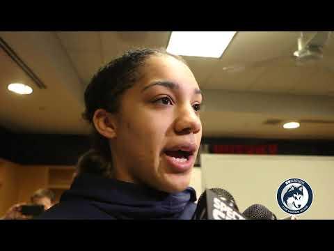 UConn WBB's Gabby Williams 2018 NCAA Tournament Final Four Pregame