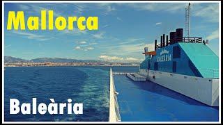Crucero en Ferry por el Mediterráneo con Balearia   Mallorca 7# España / Spain Travel Guide