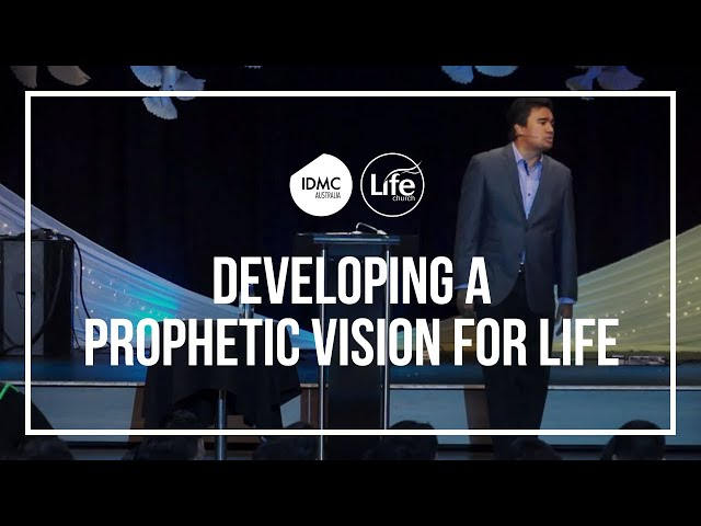 Developing A Prophetic Vision For Life | Rev Paul Jeyachandran