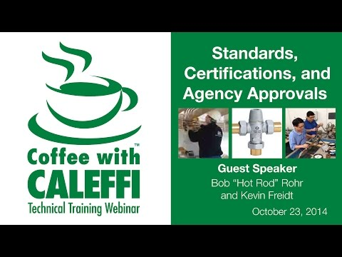 Standards, Certifications, and Agency Approvals