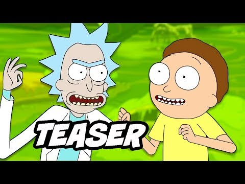 Rick and Morty Season 4 Teaser – Episodes Explained by Justin Roiland