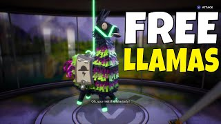 Fortnite - STUFF GRATUIT! GRATUIT NEON LLAMAS - France OR SAISONNIER (EN ANGLAIS) MERCURY LMG - France Fortnite sauver le monde