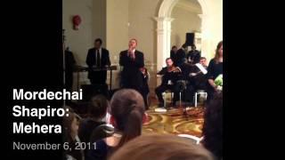 Mordechai Shapiro sings Mehera