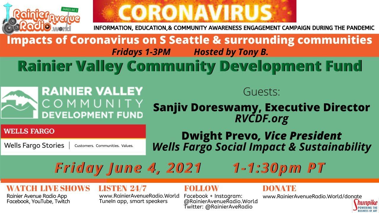 6-4-21 Impacts of Coronavirus broadcast: Rainier Valley Community Development Fund