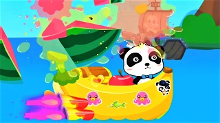 Baby Panda Captain - Children Fun With Boats and Ships - Babybus Kids Games