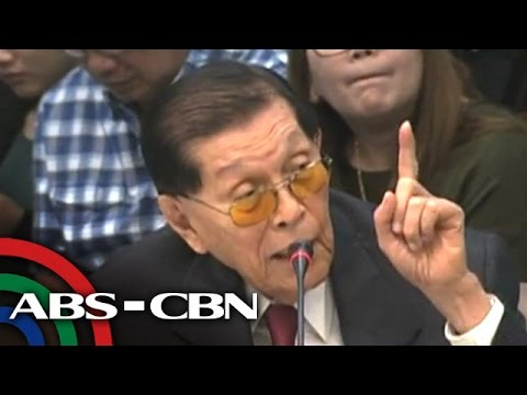ANC Live: Enrile loses cool with RCBC branch manager