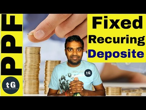 Fixed Deposit Vs  Recurring Deposit Vs PPF Account | Technical Guptaji