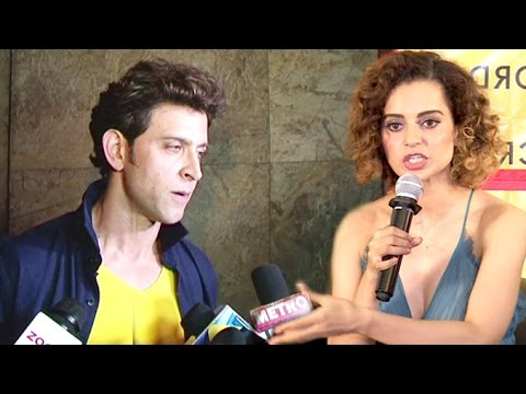 ANGRY Hrithik Roshan Walks Away From Interview When Reporter Asks About Kangana Ranaut's INSULT