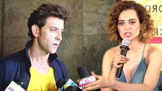 ANGRY Hrithik Roshan Walks Away From Interview When Reporter Asks About Kangana Ranaut& 39 s INSULT