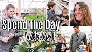 SPEND THE DAY WITH US 2020 :: SHOP WITH ME FOR PLANTS :: DAY IN THE LIFE :: This Crazy Life Vlog