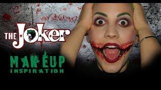 """JOKER makeup tutorial - Makeup Artist """"Meriam khadraoui"""""""