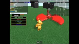 Roblox Knights Revenge showcasing level 300+ stuff