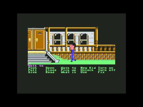 c64 maniac mansion