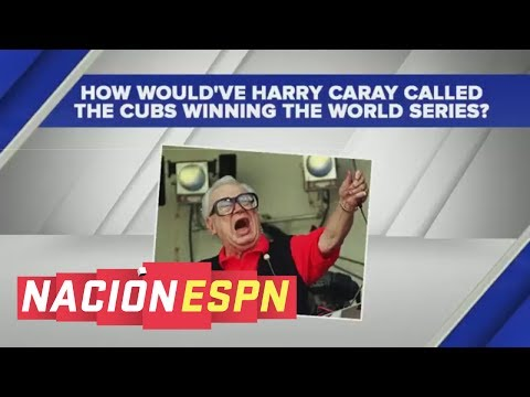 Will Ferrell Impersonates Harry Caray Calling Cubs Winning World Series | Nación ESPN