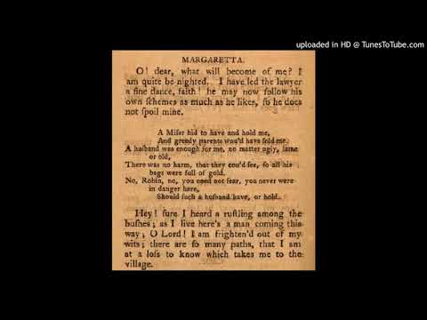 "Stephen Storace - No Song, No Supper: Margaretta's Air ""A Miser bid to have..."""