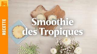 Smoothie des Tropiques