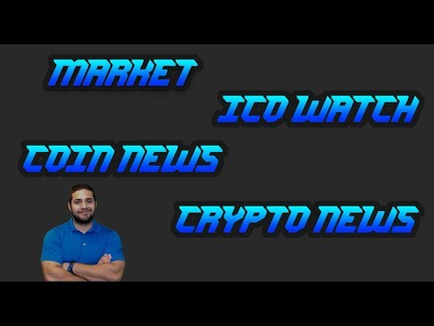 ICO WATCH | GOOD & BAD COIN NEWS | MARKET CAP | CRYPTOCURRENCY NEWS