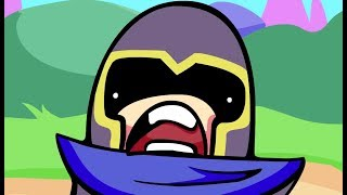 Helmet Bro: The Animated Series - Lulu vs. Cupcake Brah   League of Legends Community Collab