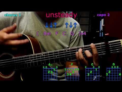 unsteady x ambassadors guitar chords