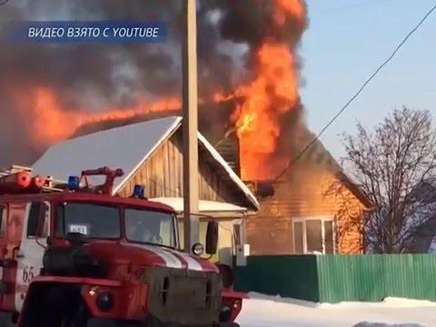 В Нижневартовске в конце прошлой денели произошло сразу два крупных пожара