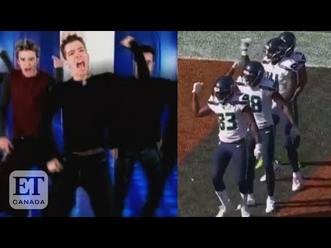 Nsync React To Seahawks Bye Bye Bye Dance