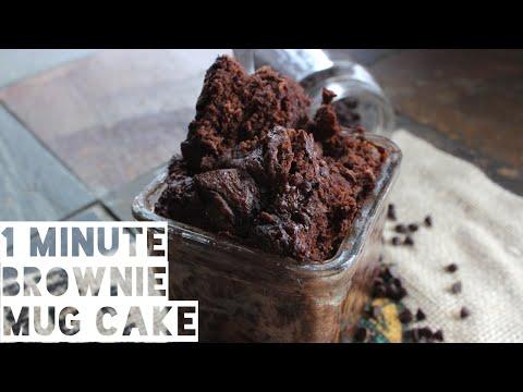 Healthy Mug Brownie Recipe | How To Make A Low Fat Mug Brownie